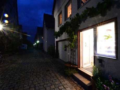 Meine Werkstatt ist in der malerischen Altstadt von Marbach